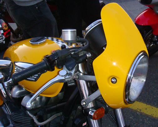 Cafe Windshield Ducati Monster
